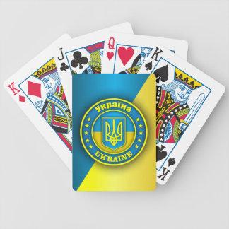 Het Medaillon van de Oekraïne Pak Kaarten
