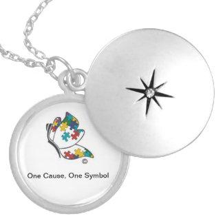 Het Medaillon van het Symbool van het autisme