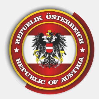 Het Medaillon van Oostenrijk Ronde Sticker