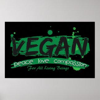 Het Medeleven van de Liefde van de Vrede van de ve Poster