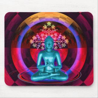 Het mediteren van Boedha Mousepad Muismat