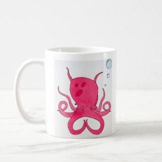Het mediteren van Octopus Koffiemok