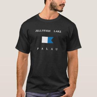Het Meer Alpha- Palau van kwallen duikt Vlag T Shirt