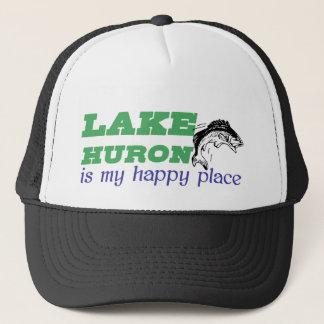 Het meer Huron is mijn gelukkige plaats Trucker Pet