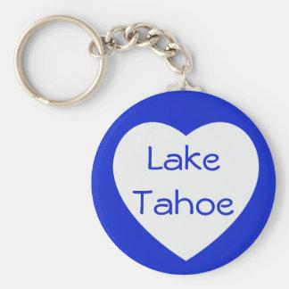 Het Meer Tahoe Californië van de liefde/het Hart Sleutelhanger