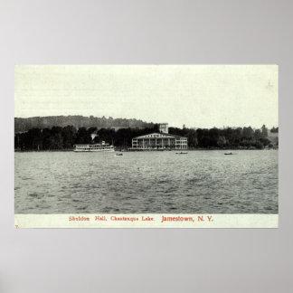 Het Meer van Chautauqua, Jamestown NY 1909 Poster
