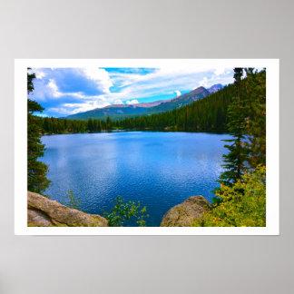 Het Meer van Colorado Poster