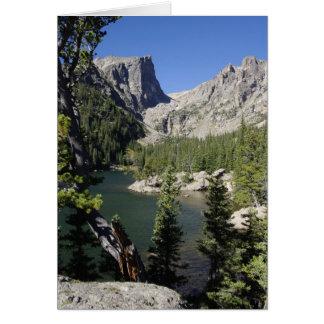 Het Meer van de droom, de Kaart van Colorado