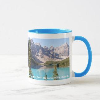 Het Meer van de morene/Banff Nationaal Park, Mok