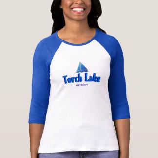 Het Meer van de toorts, Michigan - Dames 3/4 T Shirt