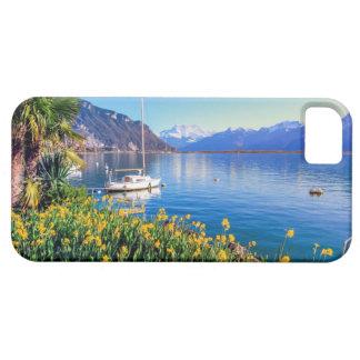 Het meer van Genève in Montreux, Vaud, Zwitserland Barely There iPhone 5 Hoesje