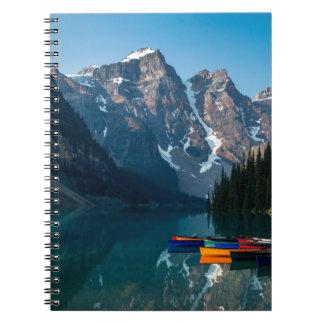 Het meer van Louise in Banff nationaal park Ringband Notitieboek
