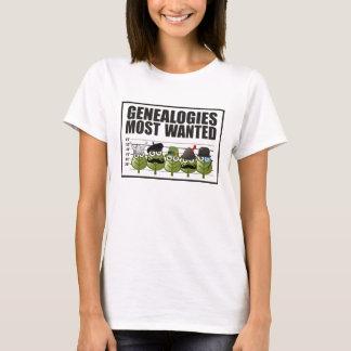Het meest Gewilde genealogie T Shirt