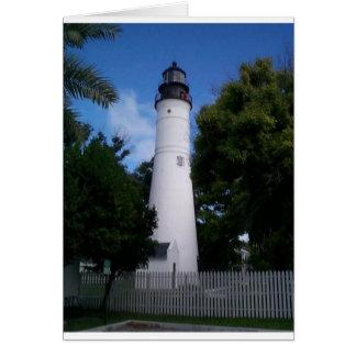 het meest lighthouse_keywest wenskaart