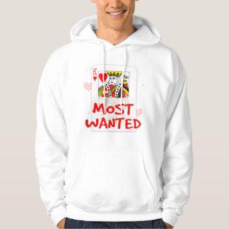 Het MEESTE GEWILD Sweatshirt Met een kap van het