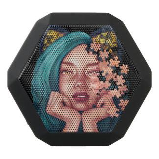 Het Meisje Boombot van de Kat van het raadsel Zwarte Bluetooth Speaker