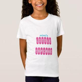 Het meisje cupcake T-shirt van Mimi