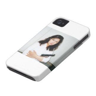 Het Meisje Iphone 4 van de actie Hoesje iPhone 4 Hoesje