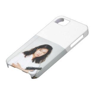 Het Meisje Iphone 5 van de actie Geval iPhone 5 Case-Mate Hoesje