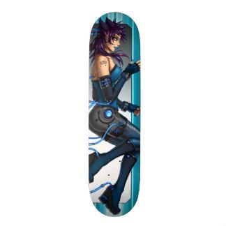 Het Meisje van Anime van het Sci Fi Persoonlijk Skateboard