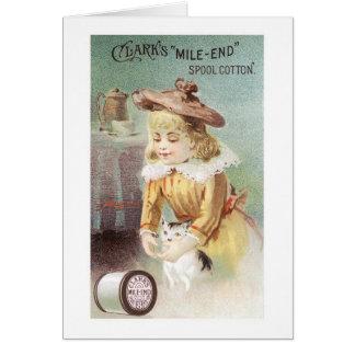 Het Meisje van Clarks met Katje Briefkaarten 0