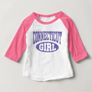 Het Meisje van Connecticut Baby T Shirts