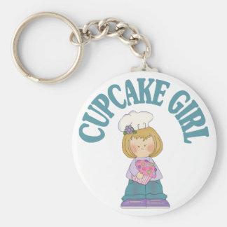 Het Meisje van Cupcake Sleutelhanger