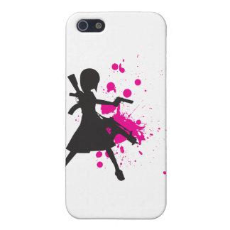 Het Meisje van de actie iPhone 5 Covers