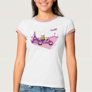Het Meisje van de autoped T Shirt