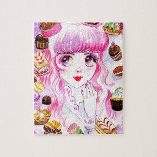 Het Meisje van de bakkerij Puzzel