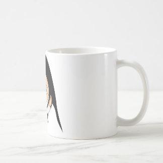 Het Meisje van de cartoon - de Mok van de Koffie