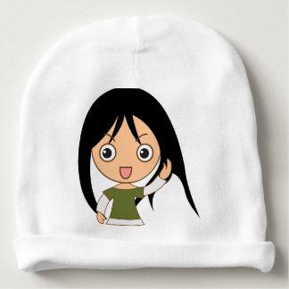 Het Meisje van de cartoon - het Pet van Meisjes Baby Mutsje