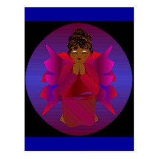 Het Meisje van de engel Wens Kaart