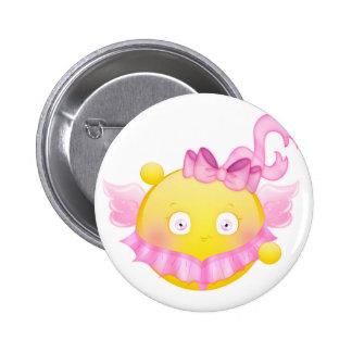Het Meisje van de Kunstschaats van Sybille - Roze Buttons