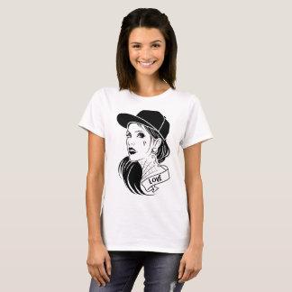Het Meisje van de liefde T Shirt