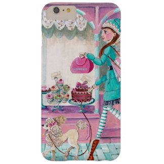 Het Meisje van de Mode van de patisserie - Iphone Barely There iPhone 6 Plus Hoesje