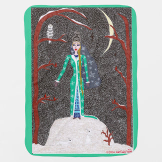Het Meisje van de sneeuw Inbakerdoek
