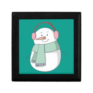 Het Meisje van de sneeuwman Decoratiedoosje