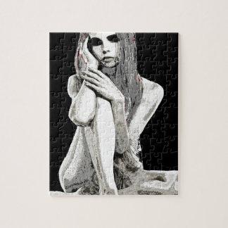 Het meisje van de steen puzzel