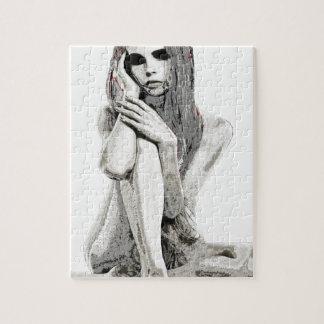 Het meisje van de steen puzzels
