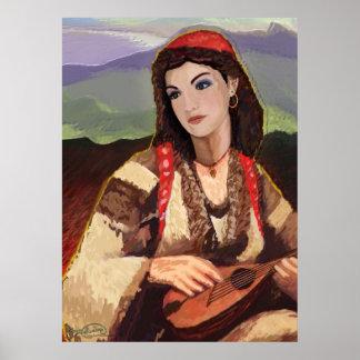 Het Meisje van de zigeuner Poster