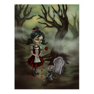 Het Meisje van de zombie vindt Ware Liefde in een Briefkaart