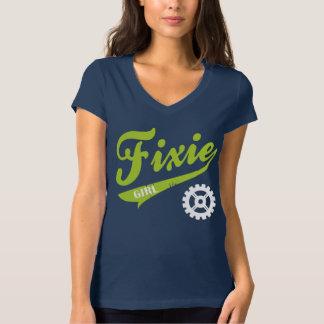 Het Meisje van Fixie, het ontwerplimoen van de T Shirt