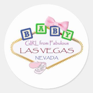 Het Meisje van het baby van de Stickers van Las