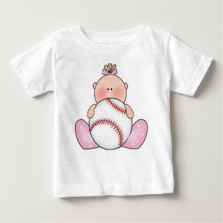 Het Meisje van het Baby van het Honkbal van Lil Baby T Shirts