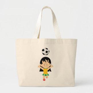 Het Meisje van het voetbal Grote Draagtas