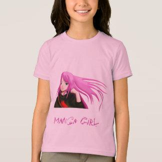 Het Meisje van Manga T Shirt