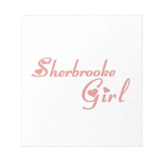 Het Meisje van Sherbrooke Kladblokken