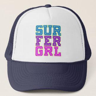 Het Meisje van Surfer Trucker Pet