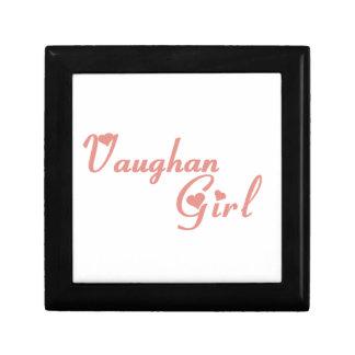 Het Meisje van Vaughan Decoratiedoosje